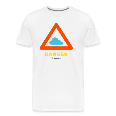 Danger Clouds! Men T-Shirt
