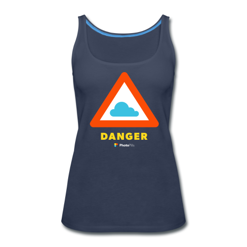 Danger clouds Women Tank Top