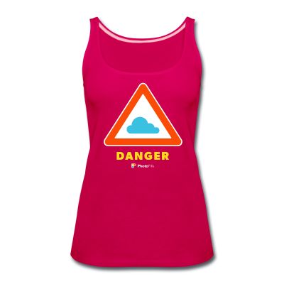 Danger Clouds! Women Tank Top