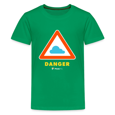 Danger Clouds! Kids T-Shirt