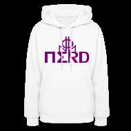 Hoodies ~ Women's Hooded Sweatshirt ~ Nerd NNO