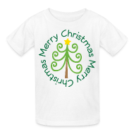 Kids' Shirts ~ Kids' T-Shirt ~ Merry Christmas Cute Kids T-shirt