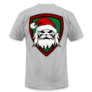 T-Shirts ~ Men's T-Shirt by American Apparel ~ Santa