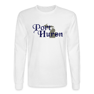 Long Sleeve Shirts ~ Men's Long Sleeve T-Shirt ~ Port Huron