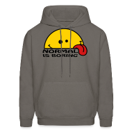 Hoodies ~ Men's Hooded Sweatshirt ~ Normal Is Boring