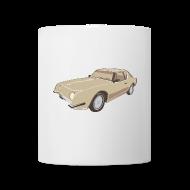 Mugs & Drinkware ~ Coffee/Tea Mug ~ Gold Studebaker Avanti illustration
