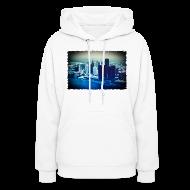 Hoodies ~ Women's Hooded Sweatshirt ~ Downtown Watercolor