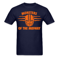 T-Shirts ~ Men's T-Shirt ~ Throwback Monsters of the Midway