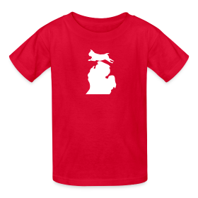 Pug Bark Michigan childrens shirt