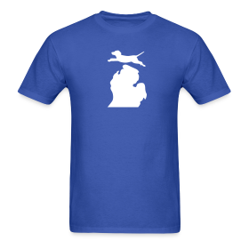 Labrador Retriever Bark Michigan mens shirt