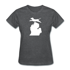 Labrador Retriever Bark Michigan womens shirt