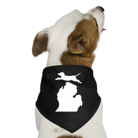 Labrador Retriever Bark Michigan dog bandanna