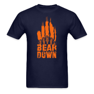 T-Shirts ~ Men's T-Shirt ~ Bear Down Skyline