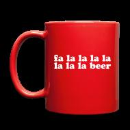 Accessories ~ Full Color Mug ~ Fa La La La Beer Coffee Mug