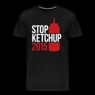 T-Shirts ~ Men's Premium T-Shirt ~ #StopKetchup2015