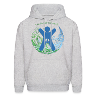 Hoodies ~ Men's Hooded Sweatshirt ~ The INTACT Network [2 Sides / Back Text Changeable]