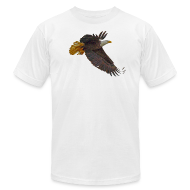 T-Shirts ~ Men's T-Shirt by American Apparel ~ Flying Mystical Eagle III