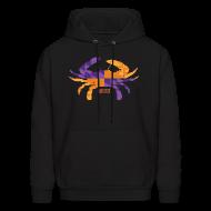 Hoodies ~ Men's Hooded Sweatshirt ~ Crab Flag Hoodie