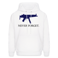 Hoodies ~ Men's Hooded Sweatshirt ~ MP5 - Never Forget