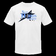 T-Shirts ~ Men's T-Shirt by American Apparel ~ Sam Harris for President