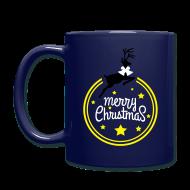 Accessories ~ Full Color Mug ~ Merry christmas reindeer Full Color Mug