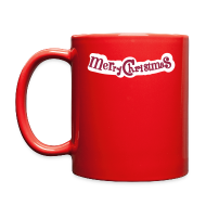 Accessories ~ Full Color Mug ~ Merry x-mas holidays Full Color Mug