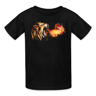 Kids' Shirts ~ Kids' T-Shirt ~ Fire Breathing Lion