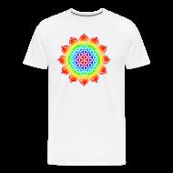 T-Shirts ~ Men's Premium T-Shirt ~ Flower of Life (Lotus Flower)
