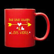 Mugs & Drinkware ~ Full Color Mug ~ Love more Full Color Mug