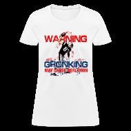 Women's T-Shirts ~ Women's T-Shirt ~ Gronking May Cause Deflation