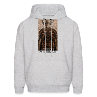 Hoodies ~ Men's Hooded Sweatshirt ~ Detroit Guardian