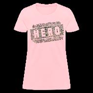 Women's T-Shirts ~ Women's T-Shirt ~ CrossFit Hero WODs Camo Cloud