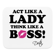 Other ~ Mouse pad Horizontal ~ Lady Boss
