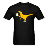 T-Shirts ~ Men's T-Shirt ~ [velociraptor]