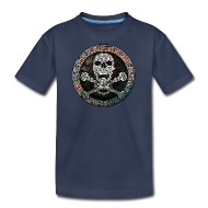 Knotwork Skull & Crossbones Kids Tee