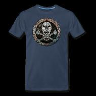 Knotwork Skull & Crossbones T-Shirt