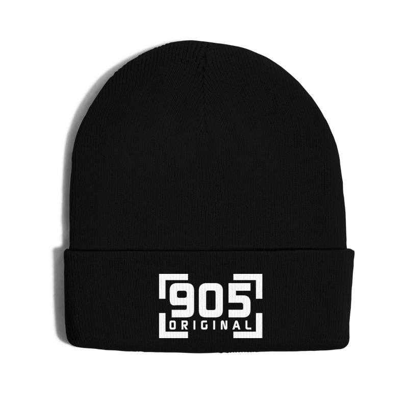 905 Original - Knit Cap with Cuff Print