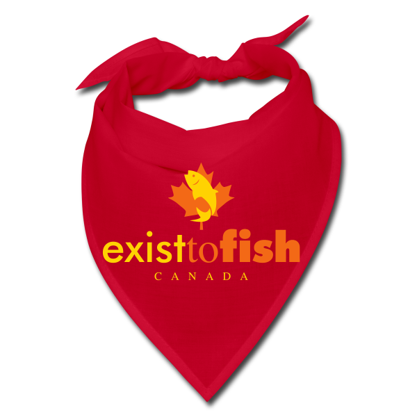 Exist To Fish Bandana