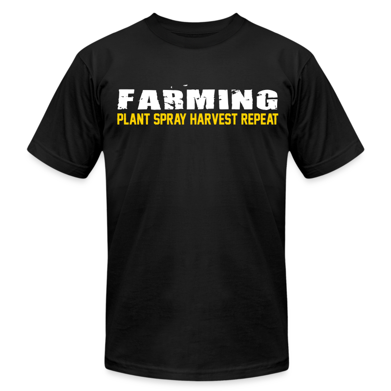 Farming - Plant Spray Harvest Repeat - Mens T-Shirt