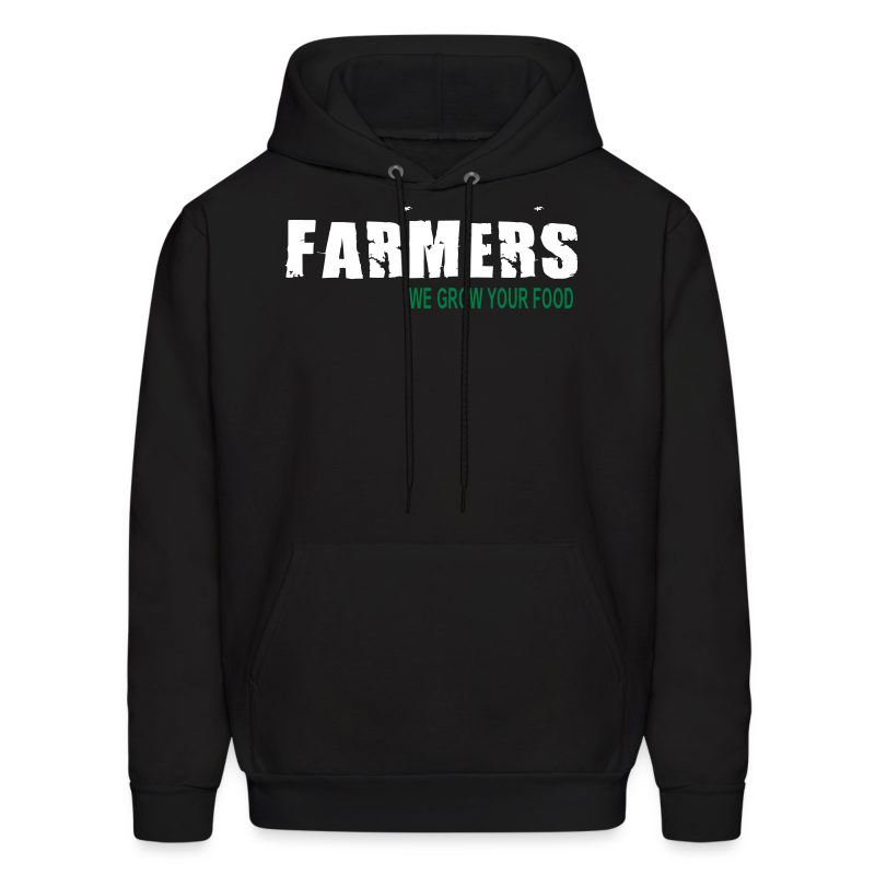 Farmers - We Grow Your Food Mens Hoodie