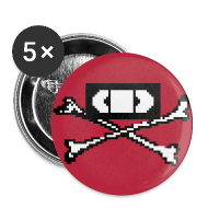 Crossbones Button