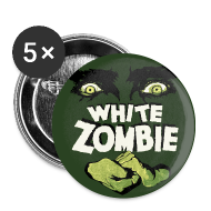 White Zombie Button