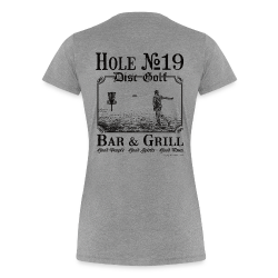 Hole 19 Disc Golf Bar & Grill - Black Print - Women's Shirt