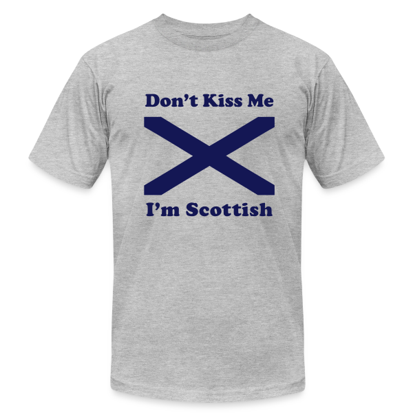 Don't Kiss Me I'm Scottish