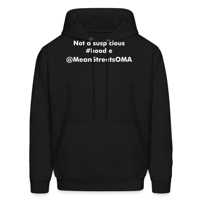 Not a suspicious #hoodie