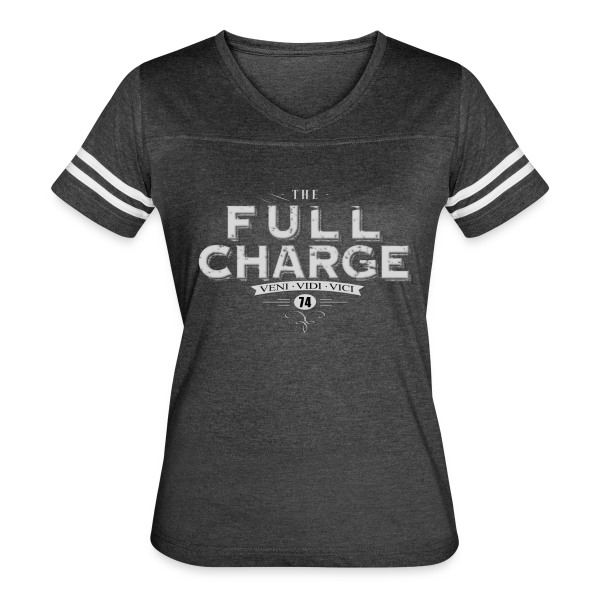 Full Charge Veni Vidi Vici Girls Ringer Tee