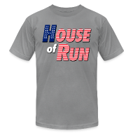 T-Shirts ~ Men's T-Shirt by American Apparel ~ House of Run T-Shirt