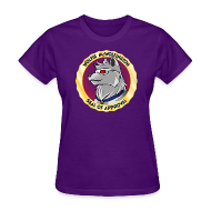 Women's T-Shirts ~ Women's Standard Weight T-Shirt ~ Wolfie McWolfington Seal of Approval Women's