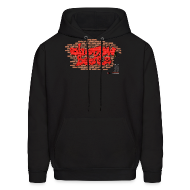 Hoodies ~ Men's Hooded Sweatshirt ~ ShadowBeatz Graffiti (Hoodie)