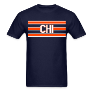 T-Shirts ~ Men's Standard Weight T-Shirt ~ Bears Chi Shirt